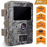 AGM Wildkamera 16MP 1080P Full HD Jagdkamera mit...
