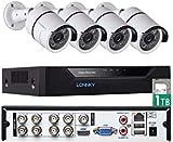 Tonton 8CH Full HD 1080P Video Überwachungssystem...