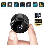 Mini Kamera, Full HD 1080P Tragbare Kleine WLAN...