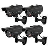 TOROTON Dummy Kamera Fake Überwachung Kamera CCTV...
