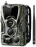24MP HC-801 LTE 4G Wildkamera unsichtbare 42 Black...