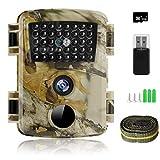 innislink Wildkamera, 1080P 12MP Jagdkamera mit...