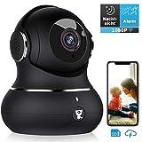 Überwachungskamera, Littlelf WLAN IP Kamera 1080P...