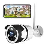 NETVUE WLAN Überwachungskamera Aussen, 1080P WLAN...