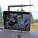Carmedien Funk Kamera Set für Pferdeanhänger 12V...