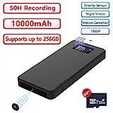 Mini Kamera 32GB 10000mAh 1080P Powerbank Kamera...