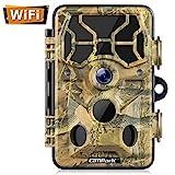 Campark WLAN Wildkamera 20MP 1296P, WiFi mit...