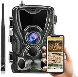 4G Wildkamera HC-801LTE mit APP 24MP Unsichtbare...
