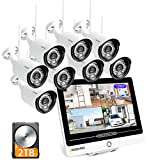 [2021NEUE・3MP] SOOHAO überwachungskamera System...