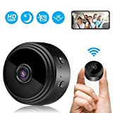 Mini Kamera, FHD 1080P Überwachungskamera Aussen...