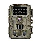 VANBAR Wildkamera 20MP 1080 Full HD Wildkamera mit...