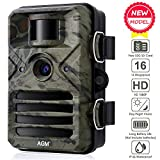 AGM Wildkamera,16MP 1080P Full HD Jagdkamera mit...