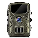 EARTHTREE Wildkamera, 14 MP 1080P Getarnte Outdoor...