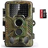 COOLIFE Wildkamera Fotofalle 21MP 1080P HD...